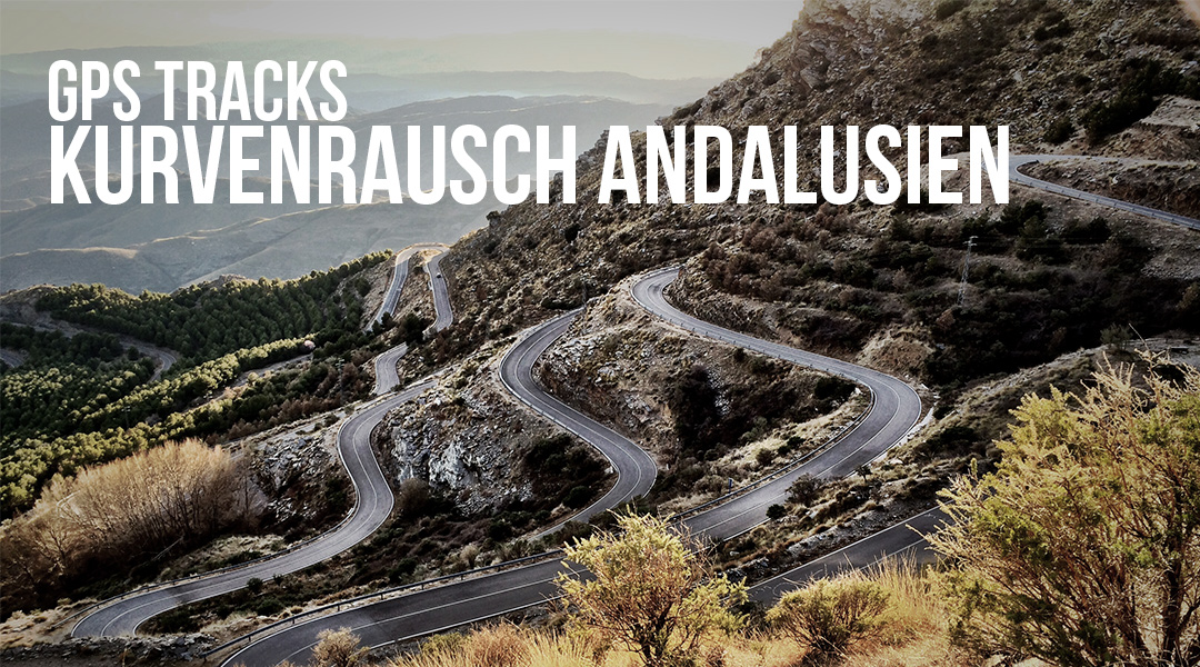 GPS Tracks Andalusien