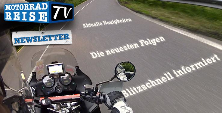 Motorradreise.TV Newsletter