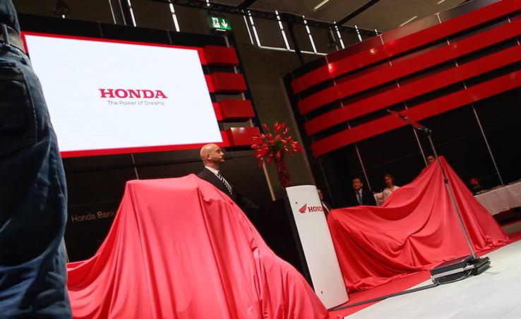 Honda Pressekonferenz