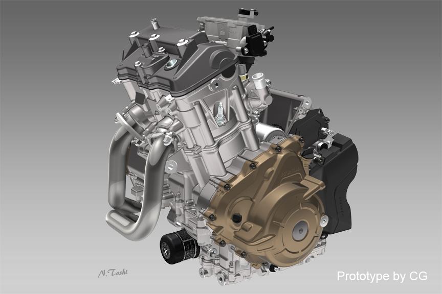 CRF1000L Motor